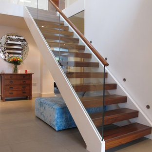 Design ideas for a modern staircase in London.