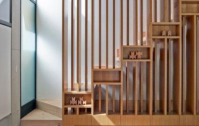 Просто фото: Хранение под лестницей — 23 идеи со всего мира