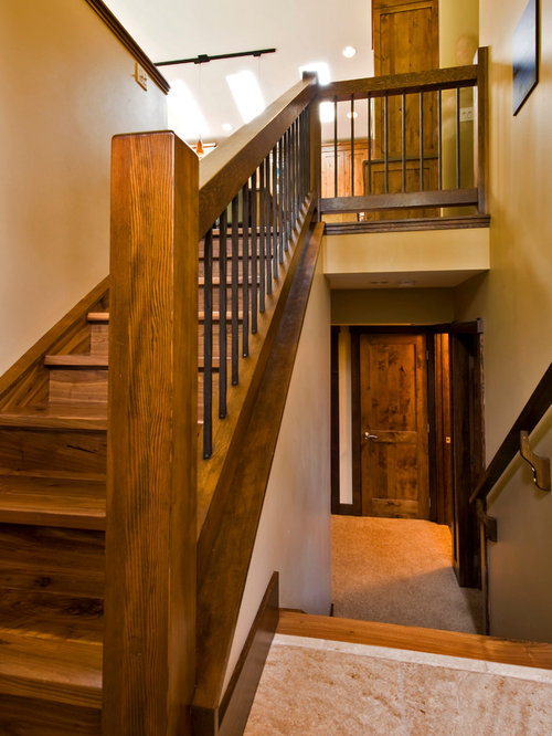 Galerry design ideas for a split level home