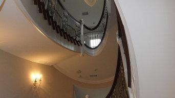 Glencoe Eleptical Staircase Masterpiece