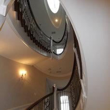 Mediterranean Staircase by Roseland Stair Works