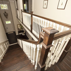 Traditional Staircase by Globus Builder
