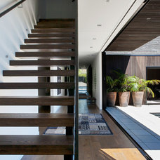 Contemporary Staircase by Dorrington Atcheson Architects