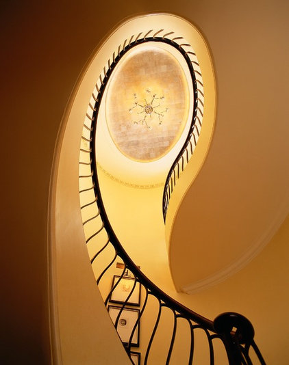 Traditional Staircase by Branca, Inc.