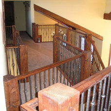 Traditional Staircase by Rockridge Building Company