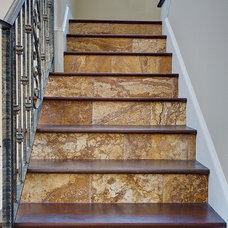 Traditional Staircase by Stone-Mart