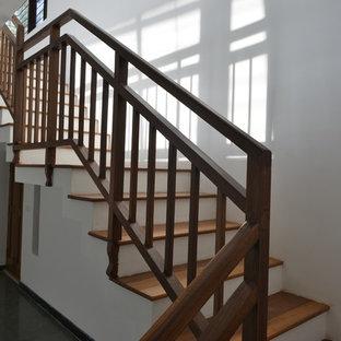 Good Earth PalmGrove- timber stair