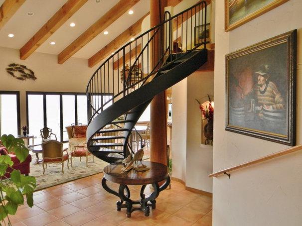 Mediterranean Staircase by Kimberley Bryan