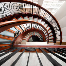 Eclectic Staircase by Teri Fotheringham Photography