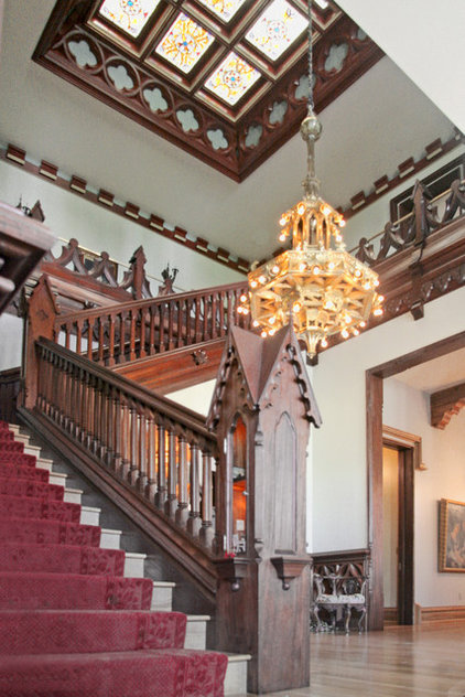 Traditional Staircase by Hull Historical