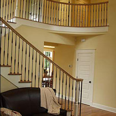Traditional Staircase by GR Burgess Co