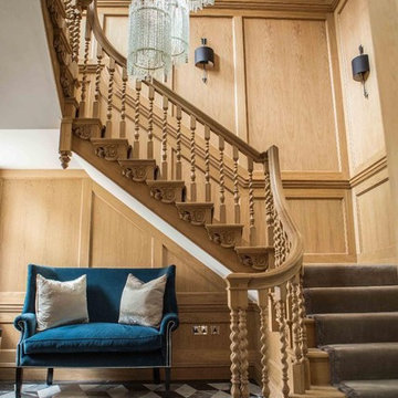 Grade 1 Listed Queen Anne Staircase
