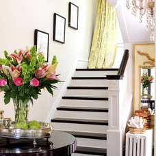 Traditional Staircase by Kerry Ciardelli