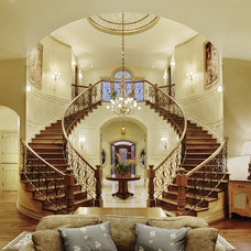 Traditional Staircase by B&B Builders