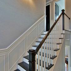 Traditional Staircase by Barron Custom Design, LLC