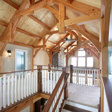 Grand Traverse Bay cottage stairs