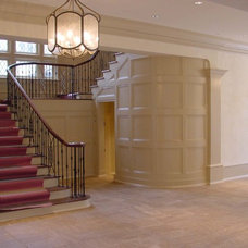 Traditional Staircase by Kenneth Lynch & Associates