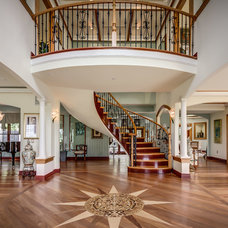 Traditional Staircase by Wolk Imaging
