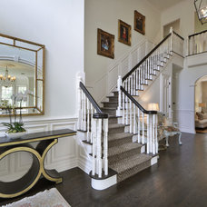 Traditional Staircase by FIG Home
