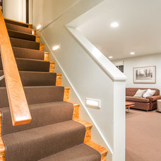 Traditional Staircase by Cassie Daughtrey Realogics Sotheby's Realty