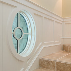 Traditional Staircase by Camens Architectural Group, LLC