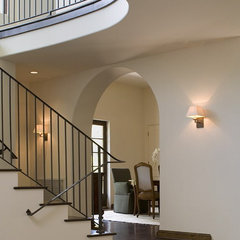 traditional staircase by Hugh Jefferson Randolph Architects