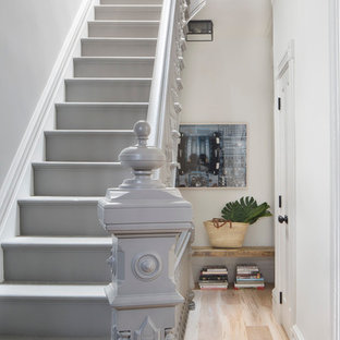 Gray Paint Staircase Ideas Photos Houzz
