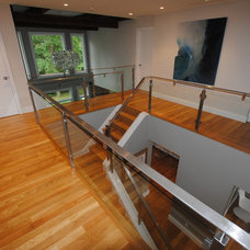 Contemporary Staircase by Ana Milititsky Design LLC