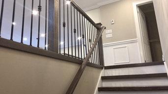 Grey Flooring & Stairs