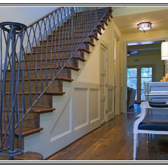 traditional staircase by Soledad Builders, LLC