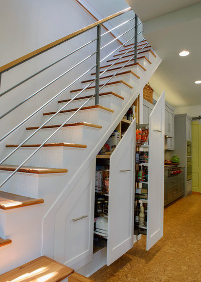 Fusion Staircase by HINGEWORKS Cabinetry & Construction