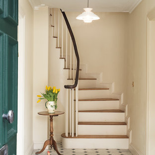 Design ideas for a classic staircase in London.
