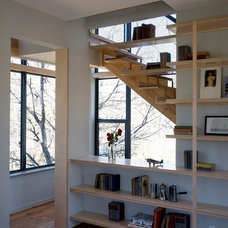 Contemporary Staircase by Tom Hurt Architecture