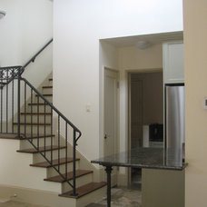 Mediterranean Staircase by Lisa Joyce Architecture