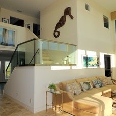 Tropical Staircase by Dynan Construction Management