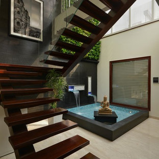 Zen garden staircase ideas photos houzz emailsave workwithnaturefo