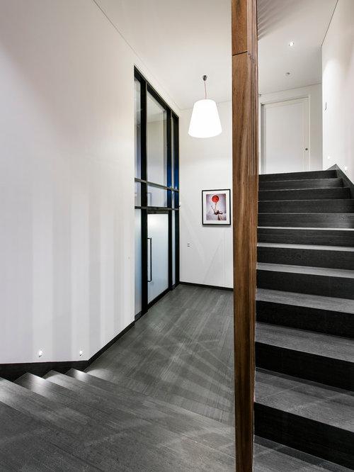 Modern Tile Staircase Design Ideas Remodels Amp Photos
