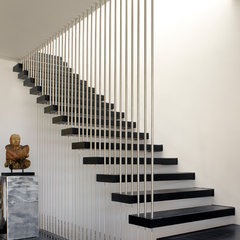 modern staircase by Group 41 Architects