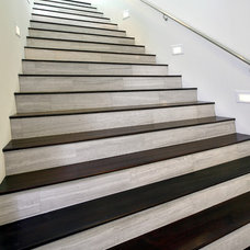 Modern Staircase by SOLI Architectural Surfaces