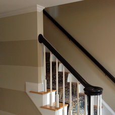 Traditional Staircase by Ricciardi Interiors