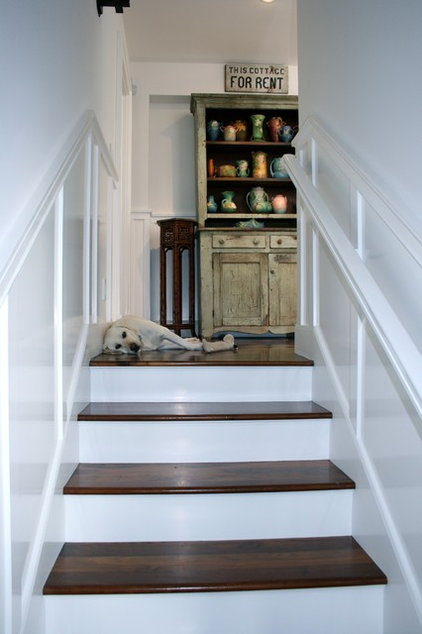 traditional staircase by Kelley & Company Home