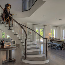 Transitional Staircase by Mackle Construction