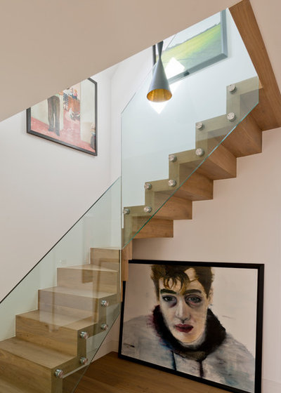 Contemporary Staircase by DDWH Architects