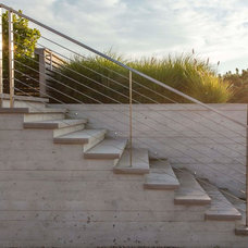 Beach Style Staircase by aamodt / plumb architects