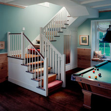 Traditional Staircase by BarlisWedlick Architects, Tribeca Studio