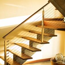 Asian Staircase Hanalei Bay Vista Estate