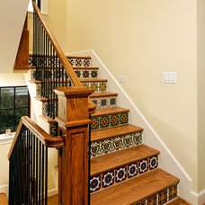Mediterranean Staircase by SAI Contracting
