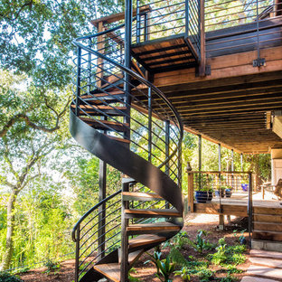Hand-Forged Artistry - Deck & Spiral Staircase