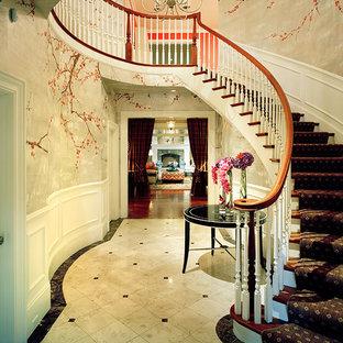 Bild på en vintage trappa