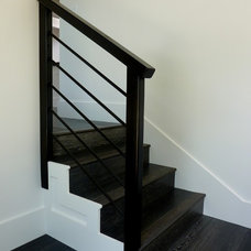 Contemporary Staircase by Willsheim Design and Build